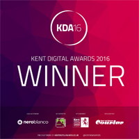 Kent Digital Awards 2016 Winner
